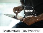 gdpr. data protection... | Shutterstock . vector #1094908940