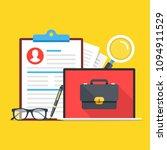 job search  career opportunity. ... | Shutterstock .eps vector #1094911529