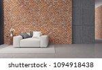 modern loft interior design ... | Shutterstock . vector #1094918438