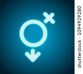 gender symbol. linear symbol....   Shutterstock .eps vector #1094929280