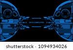 hud futuristic elements data... | Shutterstock .eps vector #1094934026