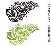 beautiful branch. vector... | Shutterstock .eps vector #1094936996