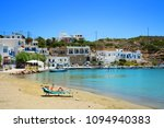 fassolou beach with turquoise... | Shutterstock . vector #1094940383