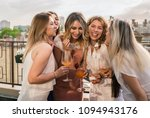girls party. beautiful women... | Shutterstock . vector #1094943176