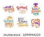 hand drawn lettering... | Shutterstock .eps vector #1094944223