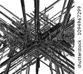 futuristic skew megalopolis... | Shutterstock .eps vector #1094967299