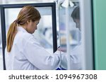 the scientists working in the... | Shutterstock . vector #1094967308