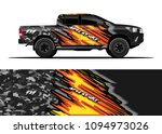 truck and car graphic... | Shutterstock .eps vector #1094973026