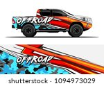 truck and car graphic... | Shutterstock .eps vector #1094973029