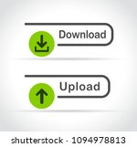download and upload icons design | Shutterstock .eps vector #1094978813