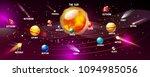 solar system vector... | Shutterstock .eps vector #1094985056
