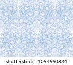 seamless blue lace background... | Shutterstock .eps vector #1094990834