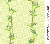 tropical flower bird of... | Shutterstock .eps vector #1094991050