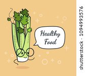 Celery With Speech Bubble....