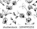 seamless flower pattern... | Shutterstock .eps vector #1094995253