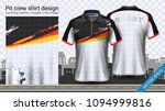 racing t shirt with zipper ... | Shutterstock .eps vector #1094999816