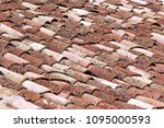 close up of old and weathered... | Shutterstock . vector #1095000593