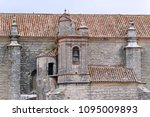 a close up view to a church of... | Shutterstock . vector #1095009893
