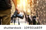 Nature Photography Concepts Professional photographer - stock photo
