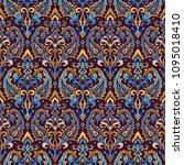 seamless pattern based on... | Shutterstock .eps vector #1095018410