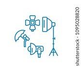 photographic equipment linear...   Shutterstock .eps vector #1095028820