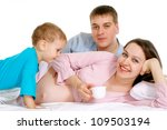 luck caucasian couple lying on... | Shutterstock . vector #109503194