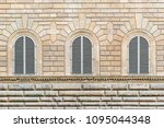 facade of the building with... | Shutterstock . vector #1095044348