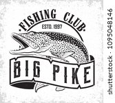 fishing club vintage logo... | Shutterstock .eps vector #1095048146