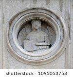 modena  italy   june 04  symbol ... | Shutterstock . vector #1095053753