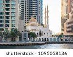 uae  dubai  dubai marina  may... | Shutterstock . vector #1095058136