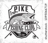 Fishing Club Vintage Logo...