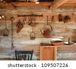 Kitchen Rack And Utensils Of A...