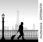 a elderly business man... | Shutterstock .eps vector #1095086534