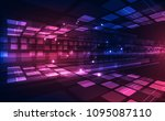 abstract vector speed digital... | Shutterstock .eps vector #1095087110