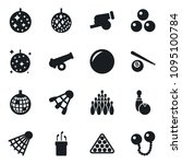 set of simple vector isolated... | Shutterstock .eps vector #1095100784