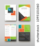poster brochure flyer design... | Shutterstock .eps vector #1095101060