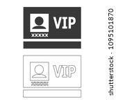 vip badge vector  icon.