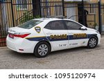 8 may 2018 a toyota corolla car ... | Shutterstock . vector #1095120974
