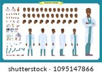 scientist character creation... | Shutterstock .eps vector #1095147866