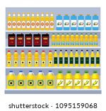 a large set of different... | Shutterstock .eps vector #1095159068