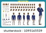people character business set.... | Shutterstock .eps vector #1095165539