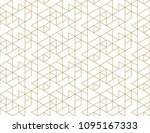 abstract geometric pattern with ... | Shutterstock .eps vector #1095167333