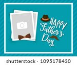 happy father's day greeting... | Shutterstock .eps vector #1095178430