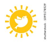 early bird icon. discount... | Shutterstock .eps vector #1095178529