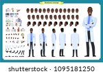 scientist character creation... | Shutterstock .eps vector #1095181250