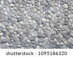 background of old stone wall... | Shutterstock . vector #1095186320