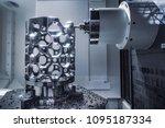 metalworking cnc milling... | Shutterstock . vector #1095187334