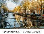 amsterdam  netherlands  ... | Shutterstock . vector #1095188426
