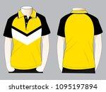 polo shirt design   slope...   Shutterstock .eps vector #1095197894