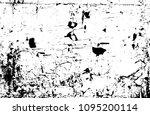 vector grunge texture. abstract ... | Shutterstock .eps vector #1095200114